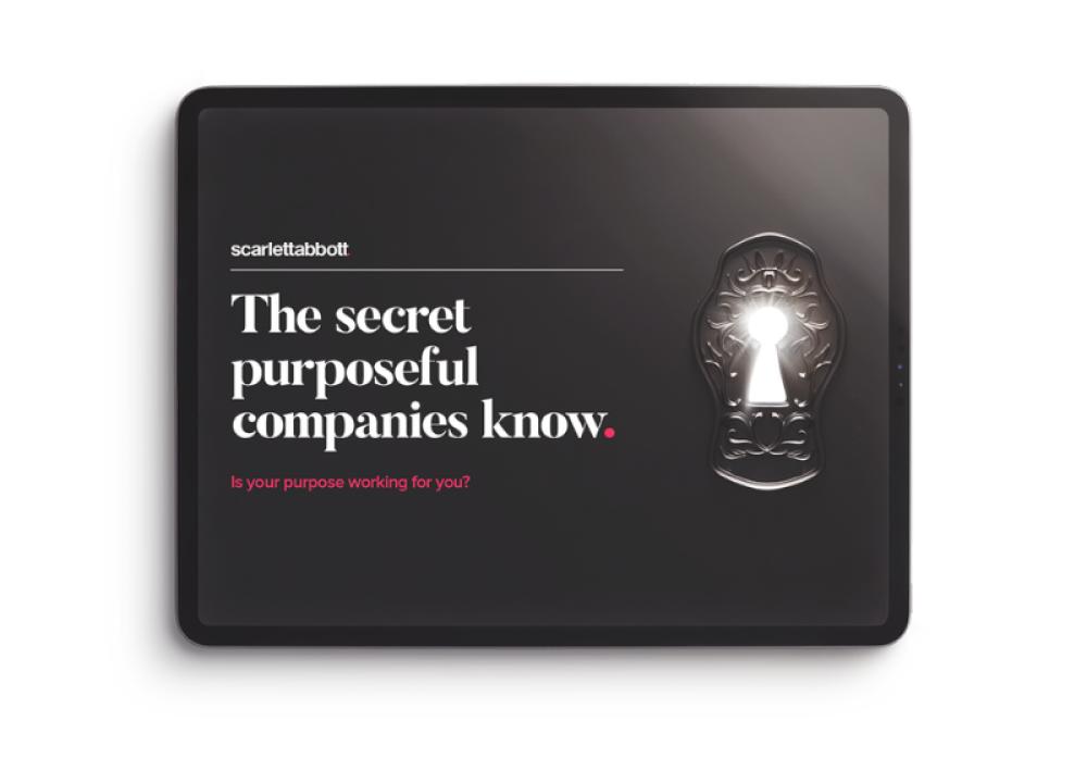 The secret purposeful companies know THUMB