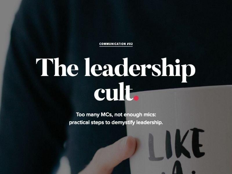Leadership cult Al THUMB