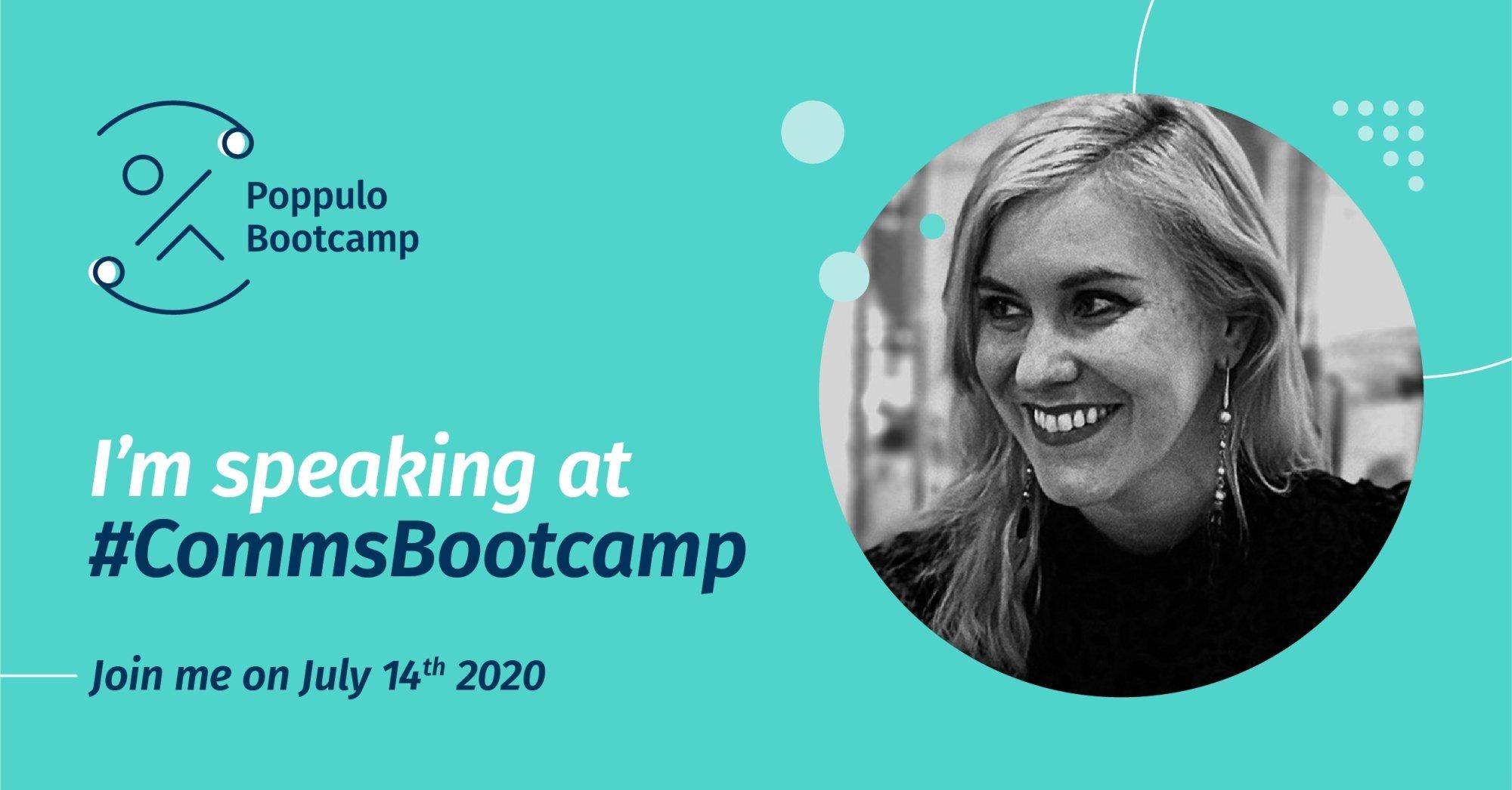 Poppulo bootcamp social speakers lindsay