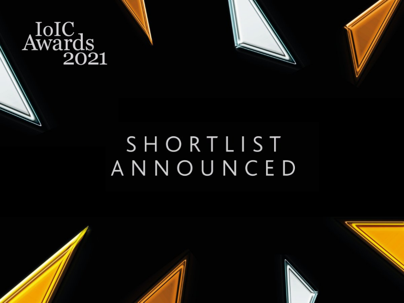 Io IC 2021 awards shortlist