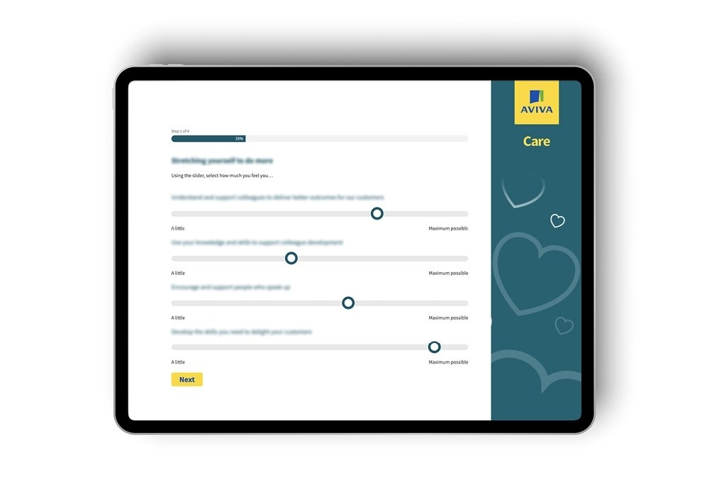 Aviva Embedding cultural behaviours case study in page 2