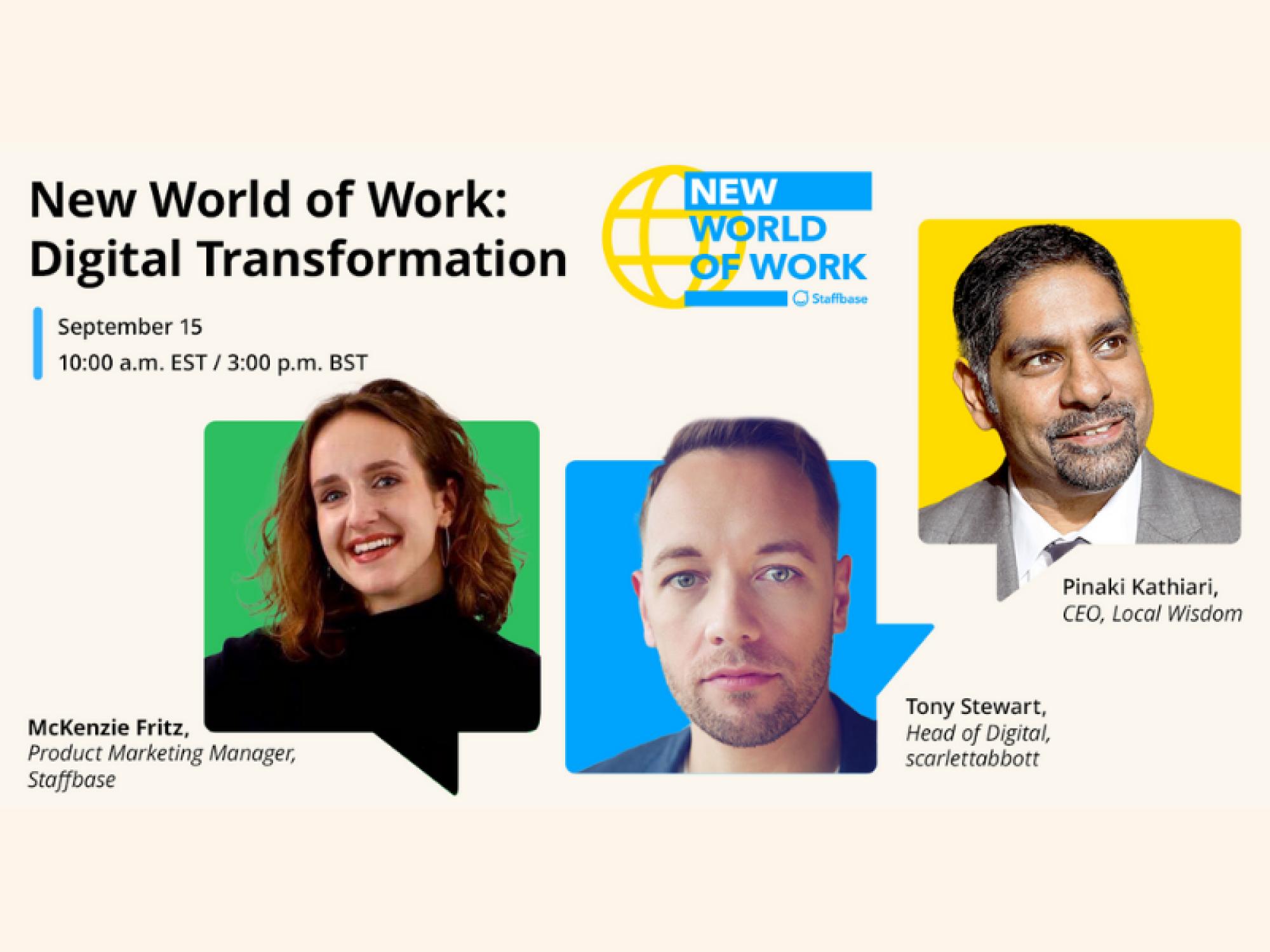 Staffbase digital transformation