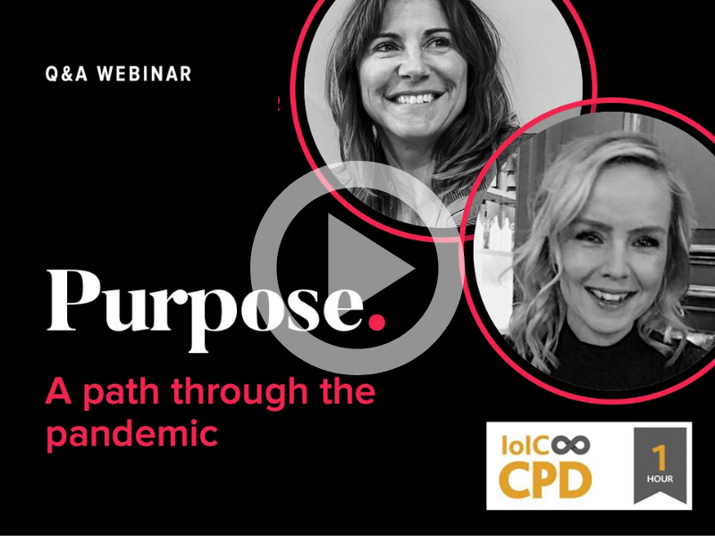 Purpose webinar vid THUMB