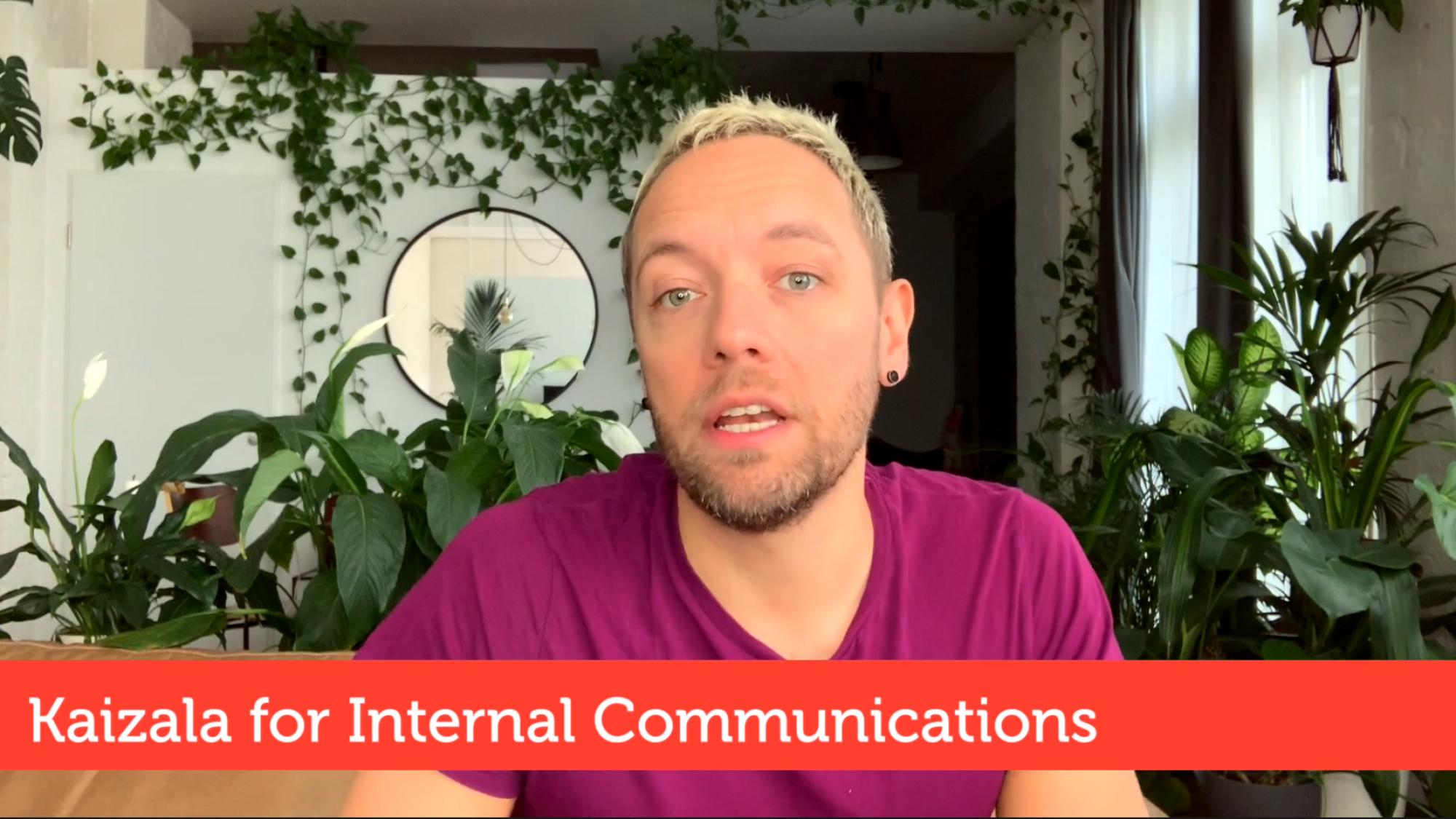 Kaizala for internal communications