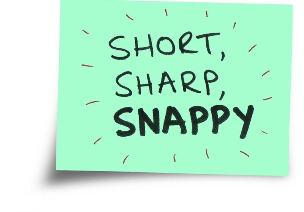 Short snappy