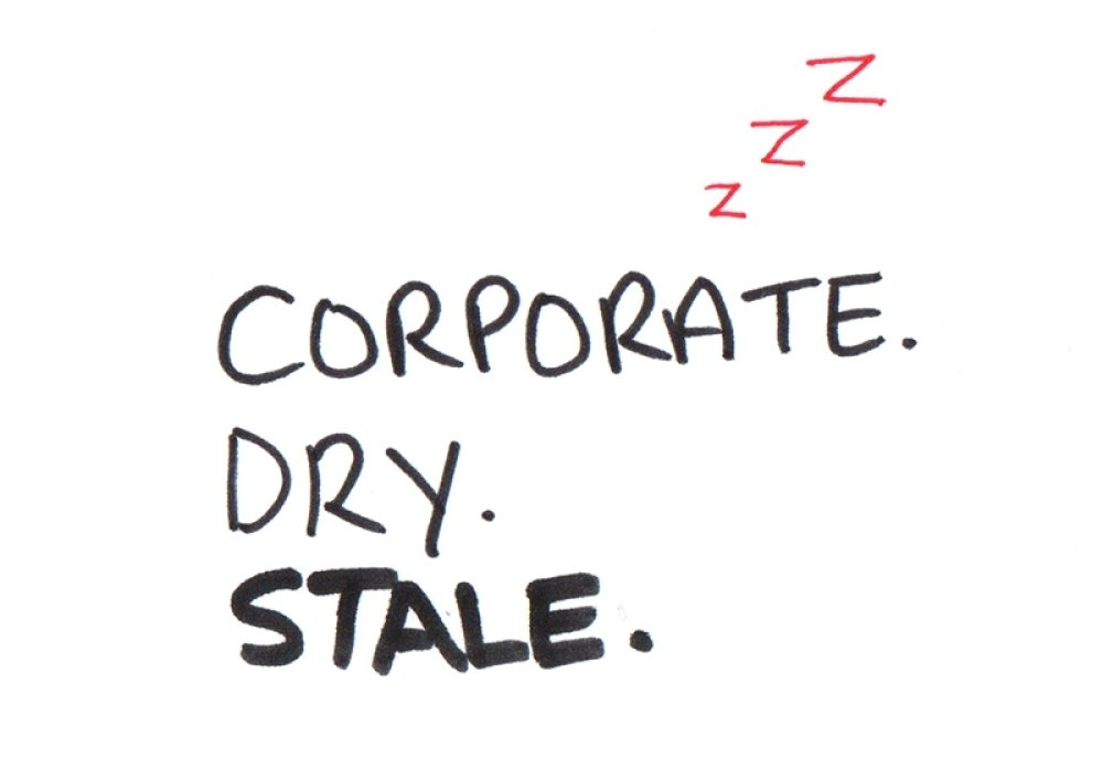 Corporate dry stale
