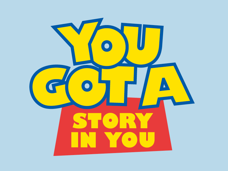 You got a story in you THUMB
