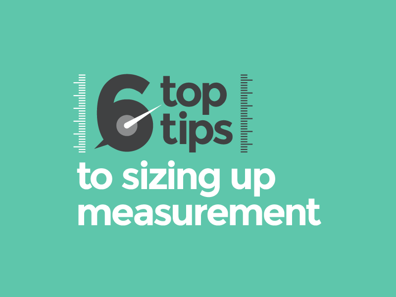 6 top tips to sizing up measurement THUMB